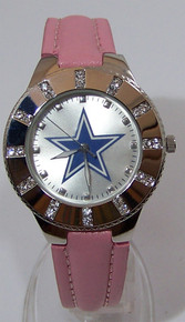 Dallas Cowboys Womens Watch Avon 2008 Release Ladies Glitz Wristwatch