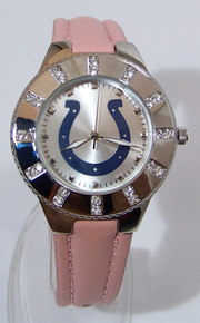 Indianapolis Colts Womens Watch Avon 2008 Release Glitz Wristwatch