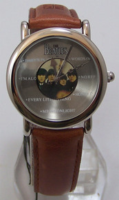 The Beatles For Sale Watch in Wooden Guitar Case Beatles Wristwatch
