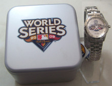 NY New York Yankees Fossil Watch 2009 World Series Champions Mens New