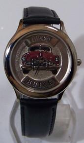 49 Buick Fossil Car Watch Relic 1949 Buick Auto Wristwatch ZR-94702
