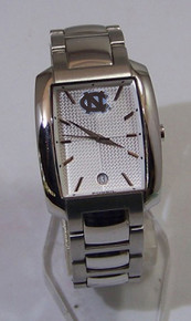 UNC North Carolina Tarheels Watch Fossil Mens Dress Wristwatch w Date