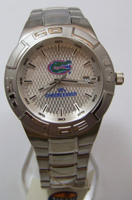 Florida Gators Cheerleader Watch Fossil Stainless Steel Wristwatch New
