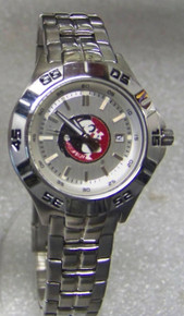 FSU Florida State Seminoles Fossil Watch Ladies Three Hand SS PR5339