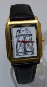 Walt Disney Studios Water Tower Watch Rare Employees Lmt Ed Wristwatch