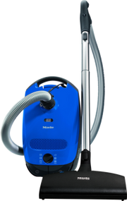The Miele Delphi Canister vacuum cleaners with electrobrush produces best results when cleaning low-medium carpeting.     * High suction power – 1,200 W    * Optimum carpet care - electrobrush for intensive deep cleaning    * Adjustable working height – Stainless steel telescopic wand    * Effortless vacuuming of large areas w/ 29.5 ft operating radius