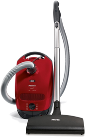 Miele C1 Titan: Limited to supply on hand. Canister vacuum cleaners  with electrobrush for best cleaning of low-medium carpeting. High suction power – 1,200 W Optimum carpet care - electrobrush for intensive deep cleaning Adjustable working height – Stainless steel telescopic wand Gentle on sensitive hard floors - soft parquet brush  Maximum air hygiene with HEPA AirClean filter
