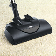 "This electrically-driven carpet tool with a 14""-wide brush roll is ideal for medium to high-pile and plush carpeting. Equipped with a swivel neck and five level height adjustment, the SEB228 powerbrush offers maximum maneuverability and versatility."