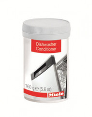 Dishwashers are exposed to a lot of food residue including starch and fats. Regular use of Miele dishwashing machine conditioner will remove residual contaminates and can actually help extend the life of your machine and ensure great wash performance is maintained. A busy dishwasher should be serviced with Conditioner every 90 days.