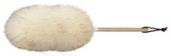 "10"" Lambswool Duster: Customers find the 10"" Lambswool Duster easy to use for dusting numerous items in every part of the house."