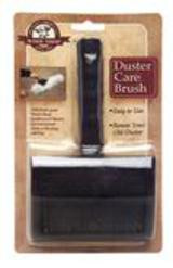 Duster Care Brush: Designed to help restore the duster to its original shape and maximum dust-collecting ability. Also, for general maintenance and care, you may want to add the Duster Brush to your order when purchasing one of our Wool Shop mops.