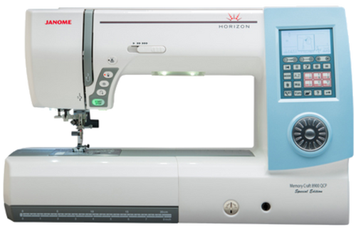 Creativity is about unlocking possibility, giving you features to expand your options, and making those features easy-to-use right out of the box. The Horizon Memory Craft 8900 QCP Special Edition does this. Come away with this machine and your creativity to explore an entire world of quilting and sewing.