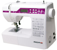 Introducing ACME 2600A @ $285 This machine sports 91 built-in stitches including built in monogramming. At your fingertips choose popular stitches such as Over-edge, Chevron, Ladder and more. It also features one of the strongest motor ever fitted on a standard domestic sewing machine allowing it to sew through materials such as leather and canvas materials.