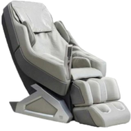 MC8900 IVORY: The Zero Gravity Whole Body Leather Massage Chair by SUNHEAT is designed to give you the most comfortable and best feeling massage a chair can give you. Stress and pain are two things we can do without, and the massage chair is your solution to those problems, and many more. This chair has a 2 stage zero gravity feature that leans you back to a 118 degree recline for the ultimate feeling of zero gravity. Not only can you experience massages simulating Shiatsu, kneading, tapping, stroking, rolling, and more, but you will also enjoy the carbon-fiber infrared heating therapy. All of this can be controlled at your fingertips with a remote. Along with enjoying the massage features, listen to your favorite music through built in speakers connected by Bluetooth or a MP3 Aux Connection. All models come with a three year warranty.