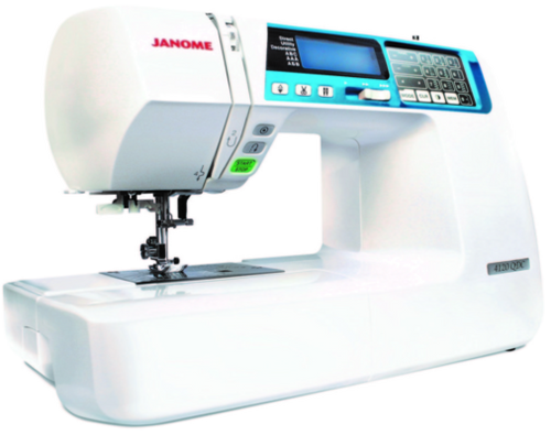 With sturdy construction and stable feeding, style follows substance in the well equipped and intuitively designed Janome 4120QDC-B. 120 stitches, twin-needle functionality, superior editing, and mirror stitching are just a few of the cutting-edge features of this special machine. The Janome 4120QDC-B has the power, precision and convenience you need to realize your creative potential.