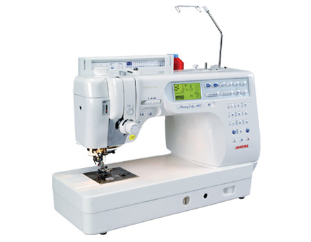 The Memory Craft 6600 Professional has the speed and precision critical to advanced sewing. The 6600 contains loads of features created especially for quilters, including the AcuFeed system. AcuFeed: Layered Fabric Feeding System ensures your sewing and quilting are even, smooth and precise on all types of fabric. The AcuFeed foot is integrated with a unique seven-point feed dog system, so your fabric is guided perfectly from the top and the bottom. AcuFeed is a unique and innovative feature - once you try it you'll wonder how you ever lived without it!