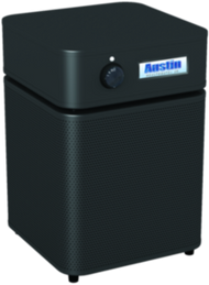 HealthMate Jr. Plus - BLACK Ultimate protection for people with chemical sensitivity.The Austin Air HealthMate+™ has been developed for people living in smaller spaces who are chemically sensitive and require the most comprehensive air cleaning solution.