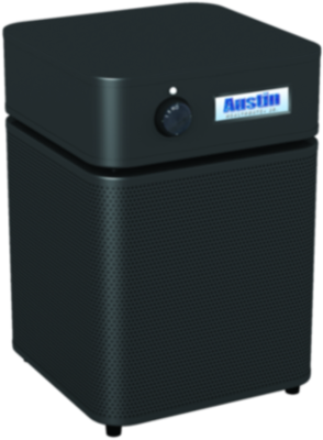 Allergy Machine Jr.  - BLACK Maximum protection for people with asthma and allergies. The Austin Air Allergy Machine™ has been developed specifically to offer maximum protection for those suffering from asthma and allergies. It effectively removes allergens, asthma irritants, sub-micron particles, chemicals and noxious gases, providing immediate relief for asthmatics and allergy sufferers.