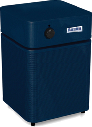 Allergy Machine Jr.  - MIDNIGHT BLUE Maximum protection for people with asthma and allergies. The Austin Air Allergy Machine™ has been developed specifically to offer maximum protection for those suffering from asthma and allergies. It effectively removes allergens, asthma irritants, sub-micron particles, chemicals and noxious gases, providing immediate relief for asthmatics and allergy sufferers.