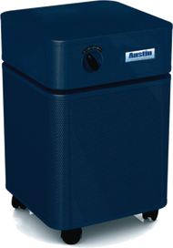 HeathMate Standard - MIDNIGHT BLUE For your everyday air quality concerns. The Austin Air HealthMate™ series removes a wide range of airborne particles, chemicals, gases and odors and will significantly improve the quality of air in your home.