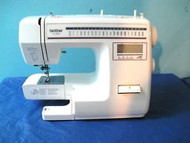 Brother XL-3030 21 Stitch, 30 Stitch Function, 4 Line LCD Display, 1 Step Autosize Buttonhole, Full Sized Sewing Machine. This machine has been completely serviced and is guaranteed to sew like new.