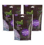 3 pack of lavender odor removing packs SKU: 118-3 Introducing Fresh Wave Lavender Odor Removing Packs: The same odor removing power of Fresh Wave, now infused with lavender oil. Known for its calming properties, the addition of lavender gives a boost to our trusted Fresh Wave best sellers. Now you can remove odors with lasting, relaxing lavender essence.