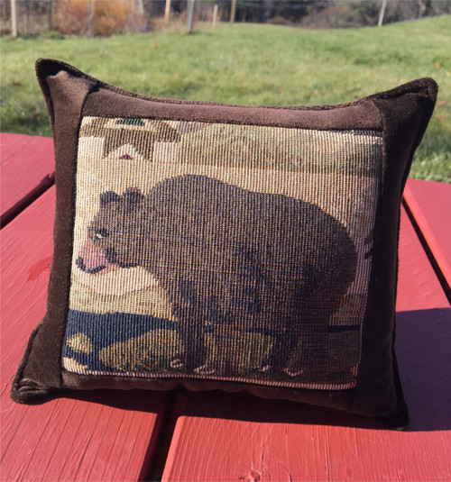 Bear Tapestry Pillow