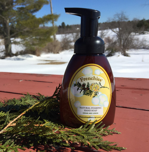 Cedar and Lemon Foaming Hand Soap