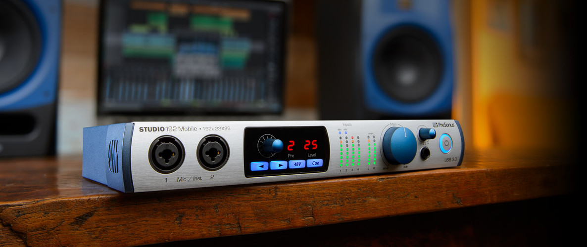 PreSonus announces Studio 192 Mobile
