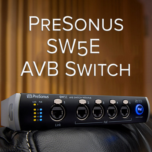 NEW - SW5E AVB Switch