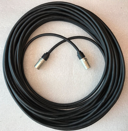 Belden 60M premium shielded Cat5E cable. Neutrik ethercon connectors