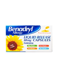 For rapid results, try Benadryl® Allergy Liquid Release Capsules. Delivered fast and FREE in the UK. NEW bargains, every day. Hurry, Buy Now.