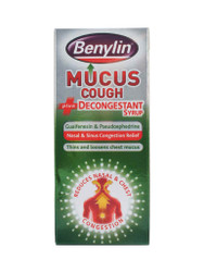 Discover Benylin® Mucus Cough Plus Decongestant Syrup. FREE, fast UK delivery. Why not benefit from our daily NEW offers? Be quick, Shop Now.