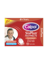 Want fast results, try Calpol Fastmelts Strawberry Flavoured Colour & Sugar Free for SixPlus. Delivered fast in the UK for FREE. NEW OFFERS each and every day. Hurry, Buy Now.