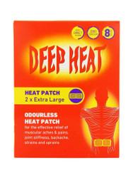 For quick results, try Deep Heat Extra Large Patch for Back Pain. Delivered fast in the UK for FREE. NEW bargains, every day. Don't miss out, Shop Now.