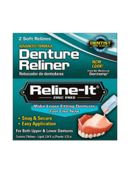 Get great results, with Dentemp Reline-it Denture Reliner to Fix Loose Dentures. Delivered FREE in the UK. OFFERS each and every day. Act fast, Shop Now.