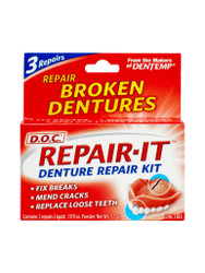 For rapid results, try Dentemp Repair-it Denture Repair Kit Repairs. FREE Delivery in the UK. OFFERS each and every day. Act fast, Shop Now.