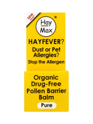 For quick results, try HayMax® Organic Drug Free Pollen Barrier Balm Pure Fragrance Free. Fast UK Delivery for FREE. Why not benefit from our daily NEW offers? Be quick, Shop Now.