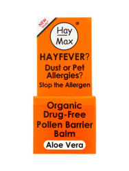 Get great results, with HayMax® Organic Drug Free Pollen Barrier Balm with Aloe Vera. Delivered for FREE in the UK. New exclusive OFFERS each and every day. Hurry, Shop Now.