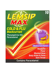 Need results, try Lemsip Max Cold & Flu Blackcurrant Sachets. Fast Delivery in the UK for FREE. NEW OFFERS each and every day. Act fast, Buy Now.