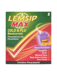 Need results, choose Lemsip Max Cold & Flu Blackcurrant Sachets. Fast, FREE UK Delivery. You can't go wrong, with great daily OFFERS. Be quick, Shop Now.