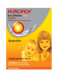 Want fast results, try Nurofen for Children Orange Singles Sugar & Colour Free Sachets. Delivered fast and FREE in the UK. NEW OFFERS each and every day. Act fast, Shop Now.