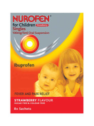 Discover Nurofen for Children Strawberry Singles Sugar & Colour Free Sachets. FREE, fast UK delivery. Giving you best value, all the time. Hurry, Buy Now.