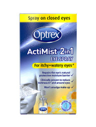 For guaranteed results, try Optrex ActiMist 2in1 Eye Spray for Itchy Watery Eyes. Delivered fast and FREE in the UK. New exclusive OFFERS each and every day. Act quickly, Shop Now.