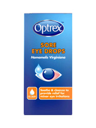 For great results, try Optrex Sore Eye Drops. Delivered fast in the UK for FREE. OFFERS each and every day. Be quick, Shop Now.