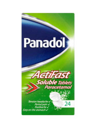 Need results, try Panadol ActiFast Soluble Tablets. Delivered in the UK for FREE. You can't go wrong, with great daily OFFERS. Don't miss out, Buy Now.