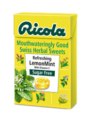 Discover Ricola Lemon Mint Sugar-Free Swiss Herb Drops Box. FREE, fast UK delivery. Amazing NEW bargains every day. Act quickly, Shop Now.