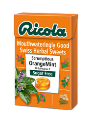 For guaranteed results, try Ricola Orange Mint Sugar-Free Swiss Herb Drops Box. Delivered FREE in the UK. Why not benefit from our daily NEW offers? Hurry, Buy Now.