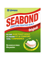 Get great results, with Seabond Original Denture Fixative Seals Upper. Delivered for FREE in the UK. OFFERS each and every day. Be quick, Shop Now.