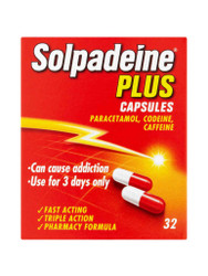 Discover Solpadeine Plus Capsules. Fast, FREE UK Delivery. Amazing OFFERS every day. Hurry, Shop Now.
